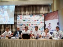 "Press conference in Moscow dedicated to the finish of the race ""Russia - Coast to Coast"""