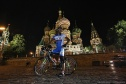 Lap of honor on the Red Square and meeting with Fasching in Swissotel at midnight